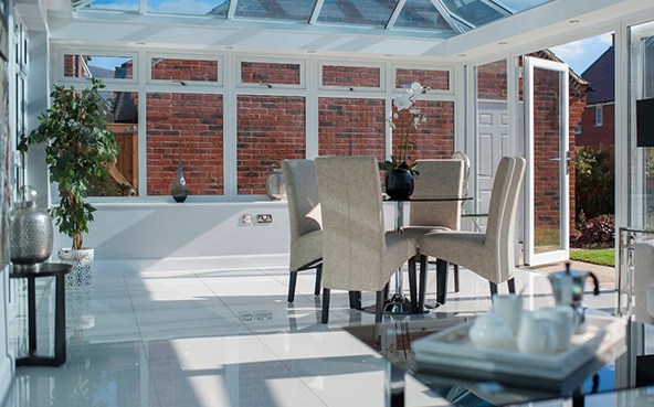 Global summer orangery interior