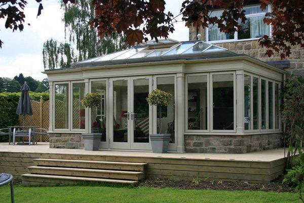Residence 9 orangery exterior
