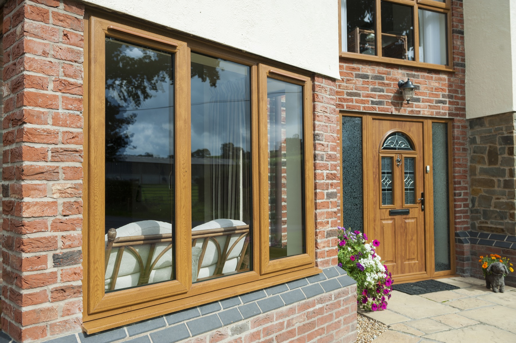 Upvc double glazing windows synergy windows conservatories for Windows and doors prices