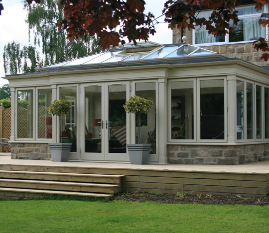 Beautiful Residence 9 orangery in Autumn
