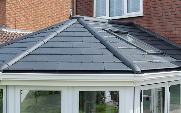 Solid roof conservatory